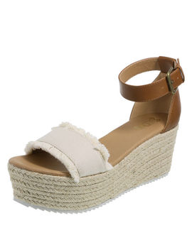 Women's Tessa Platform Wedge Sandal by Learn About The Brand Brash