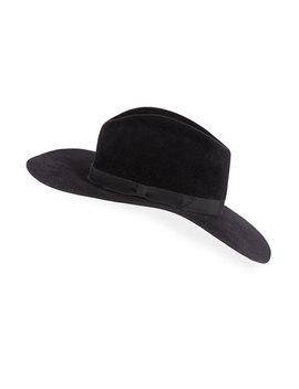 Bianca Felt Downturn Brim Hat by Gladys Tamez