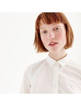 Slim Perfect Shirt In Cotton Poplin by J.Crew