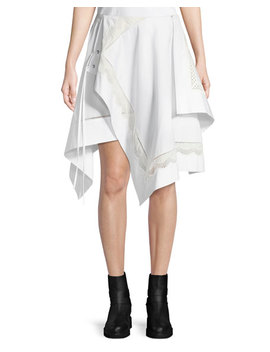 Embroidered Handkerchief Skirt by 3.1 Phillip Lim
