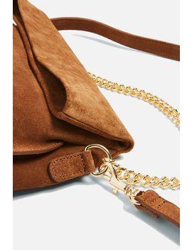 Suede Shoulder Bag by Topshop
