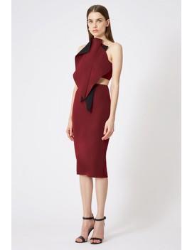Austine Structured Midi Dress by Aq/Aq