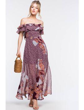 Boho Days Maxi Dress by A'gaci