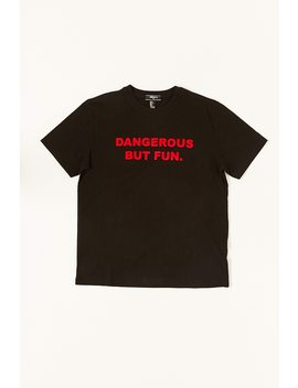 Dangerous But Fun Graphic Tee by Forever 21