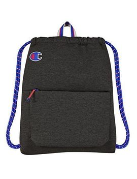 Champion The Attribute Gym Sack In Dark Grey   by Champion