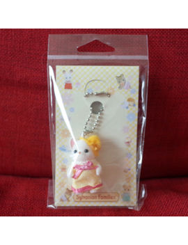 Sylvanian Families Chihuahua Key Chain Yellow Dress Epoch Calico Critters by Ebay Seller