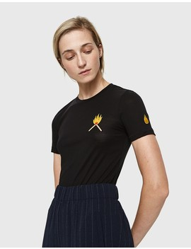 Linfield Lyocell T Shirt With Matches by Need Supply Co.