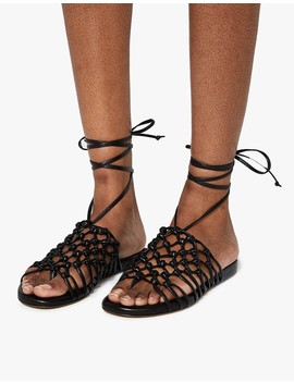 Knotted Ankle Wrap Sandal by Need Supply Co.