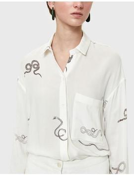 Serengeti Shirt In White by Need Supply Co.