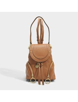 Olga Small Crossbody Backpack by Monnier Frères