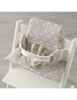 Stokke® Grey Star Tripp Trapp® Cushion by Crate&Barrel