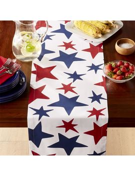 """4th Of July Table Runner 90"""" by Crate&Barrel"""