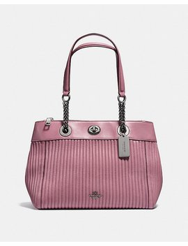 Turnlock Edie Carryall With Quilting by Coach