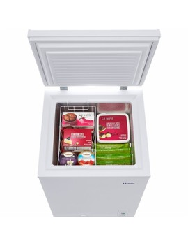 3.5 Cu. Ft. Chest Freezer   White by Haier