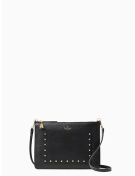 On Purpose Studded Zip Crossbody by Kate Spade