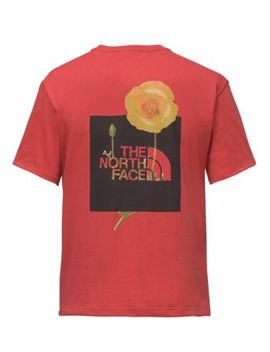 Women's Short Sleeve Bottle Source Red Box Tee by The North Face