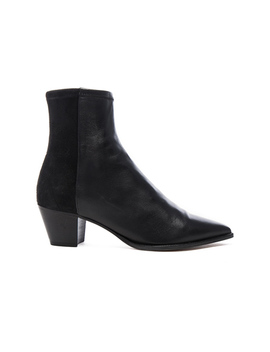 Dabbs Velvet &Amp; Leather Boots by Isabel Marant