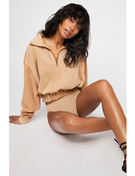 Summer Night Half Zip Pullover by Free People