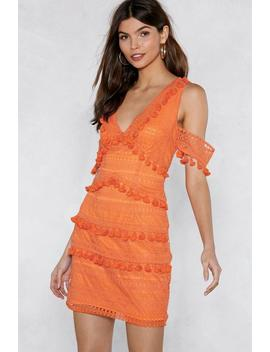 Get Into The Swing Of Things Tassel Dress by Nasty Gal