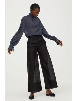 Lyocell And Silk Pants by H&M