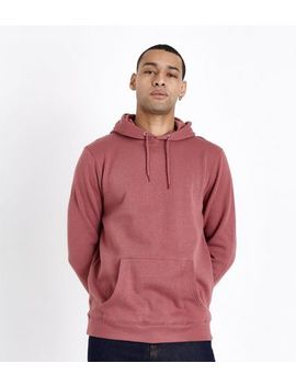 Plum Pocket Front Hoodie by New Look