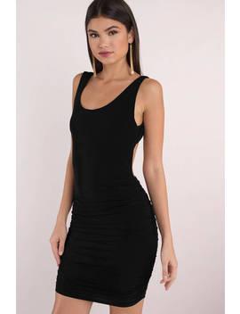 Keep It Classic Black Bodycon Dress by Tobi