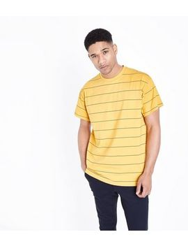 Yellow Stripe T Shirt by New Look