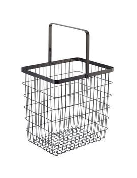 "Yamazaki Home Large Wire Laundry Basket ""Tower"" by Yamazaki Home"