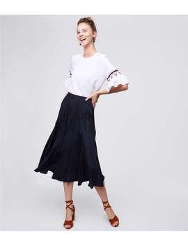 Midi Flare Skirt by Loft
