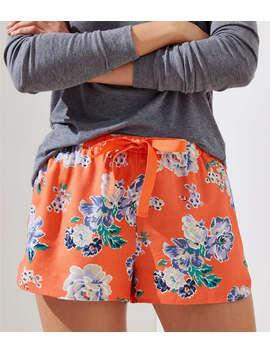 Floral Pajama Shorts by Loft