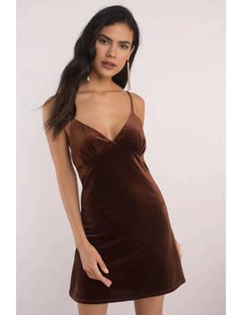 Lucca Couture Lena Chai Velvet Bodycon Dress by Tobi