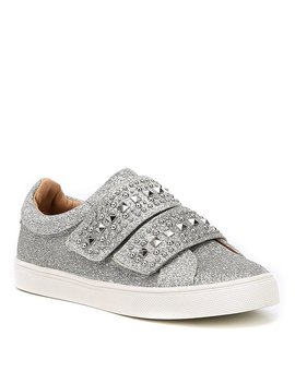 Girls' Baylen Glitter Stud Detail Sneakers by Vince Camuto