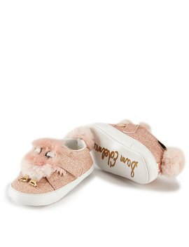 Girls' Baby Ovee Glitter Crib Shoes by Sam Edelman