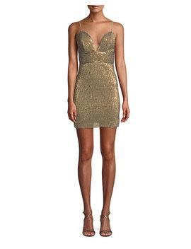 Frankie Sequin Mini Dress by Neiman Marcus