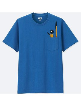 The Brands Short Sleeve Graphic T Shirt (Bic) by Uniqlo