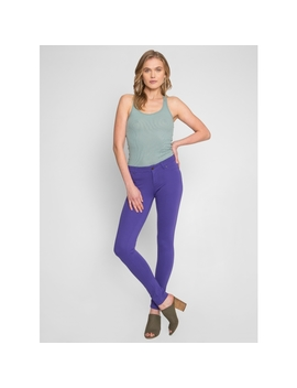 Cruise Control Skinny Pants In Purple by Wet Seal