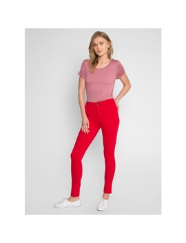 Cruise Control Skinny Pants In Red by Wet Seal