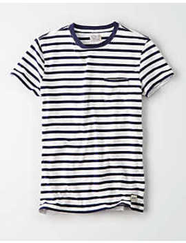 40 Weft Striped T Shirt by American Eagle Outfitters