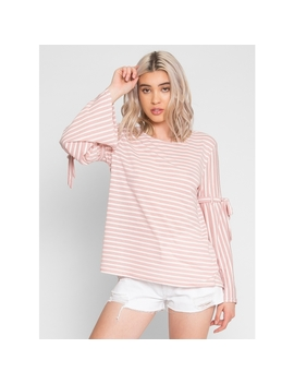 Smooth Sailing Sripe Top by Wet Seal