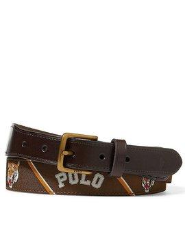 Overlay Webbed Belt by Polo Ralph Lauren