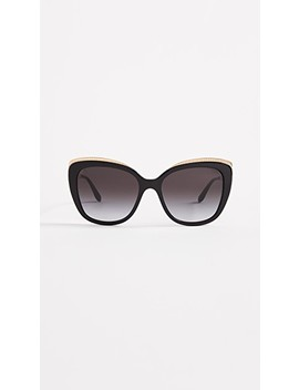 Top Fluted Sunglasses by Dolce &Amp; Gabbana
