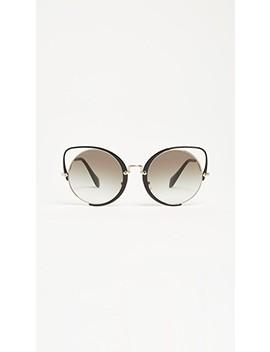 Scenique Evolution Sunglasses by Miu Miu