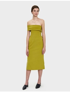 Donna Dress In Green by Need Supply Co.