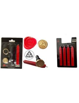 Wax Sealing Kit & 4 Wax Pack Celtic Symbol Letter Seal Stamp Gift Xwsc085 by Ebay Seller