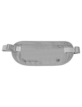 Travelon® Rfid Undergarment Waist Wallet   Gray by Travelon