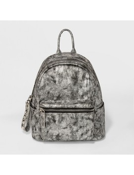 Moda Luxe Claudette Backpack Handbag   Silver Gray Opaque by Moda Luxe