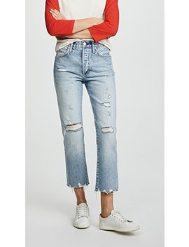 Loverboy Relaxed Straight Leg Jeans by Amo