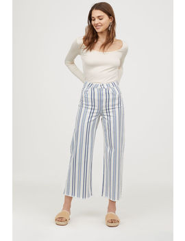 Ankle Length Twill Pants by H&M
