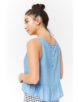 Shirred Hem Top by F21 Contemporary