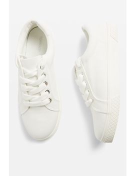 City Lace Up Trainers by Topshop